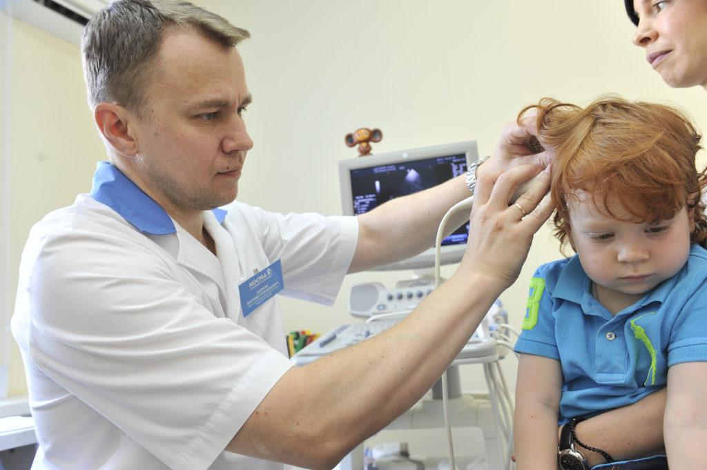 УЗИ сосудов головы и шеи у детей